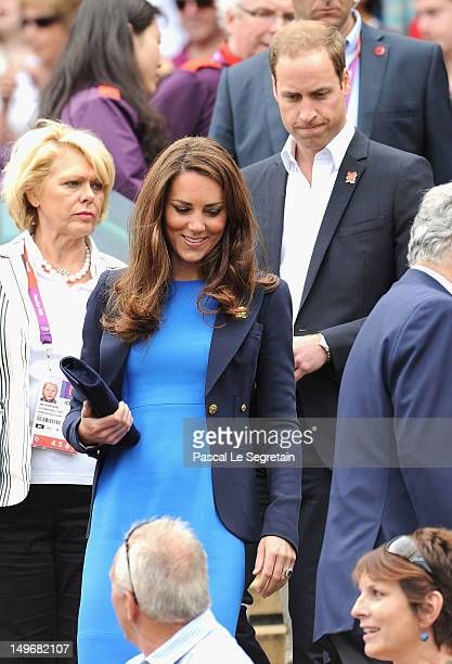 Catherine, Duchess of Cambridge and Prince William, Duke of Cambridge attend the match between Andy Murray of Great Britain and Nicolas Almagro of...