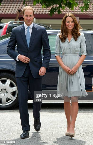 Catherine Duchess of Cambridge and Prince William Duke of Cambridge visitsHospis Malaysia on Day 3 of Prince William Duke of Cambridge and Catherine...