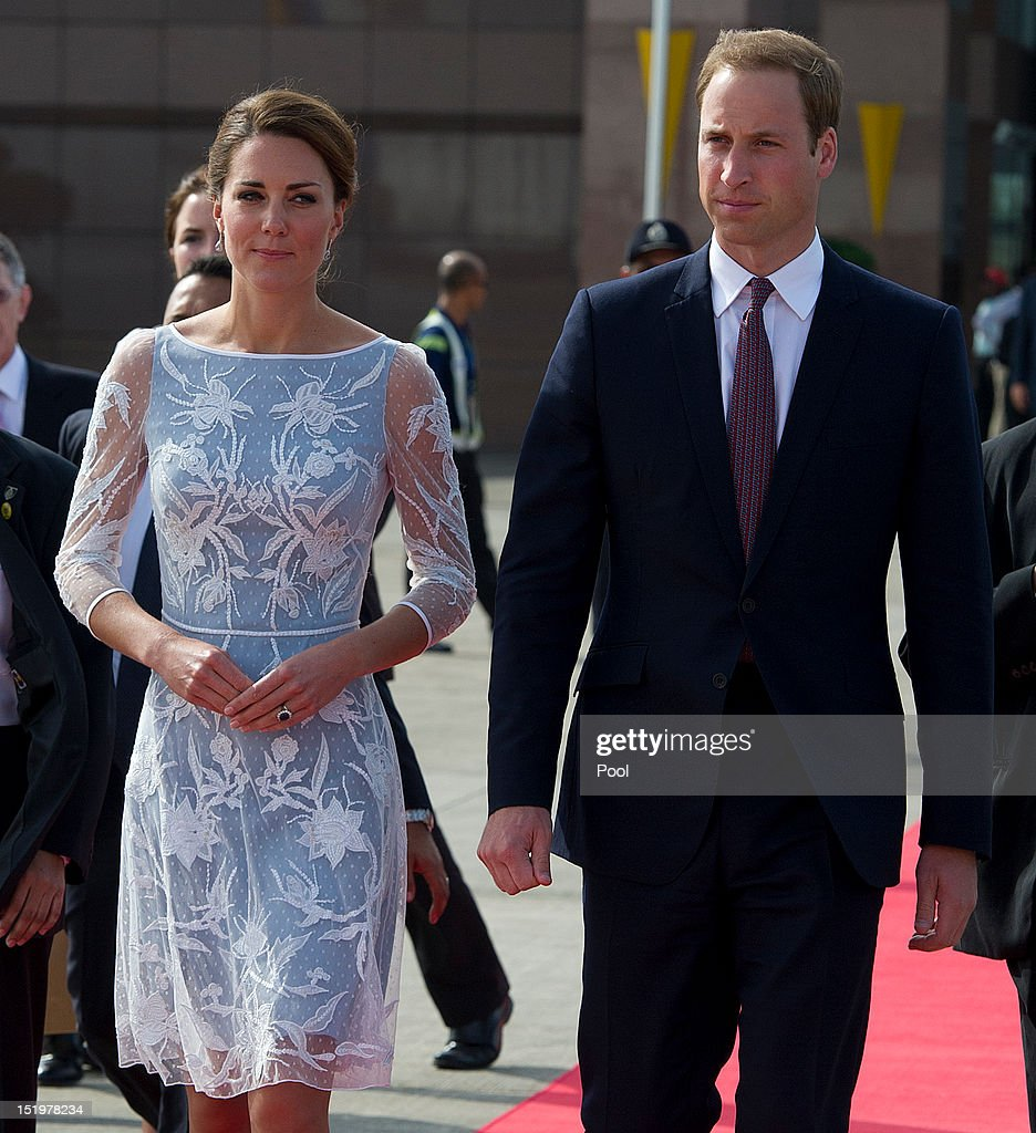 The Duke And Duchess Of Cambridge Diamond Jubilee Tour - Day 4 : News Photo