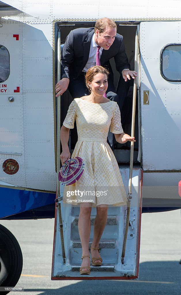 The Duke And Duchess Of Cambridge Diamond Jubilee Tour - Day 8 : News Photo