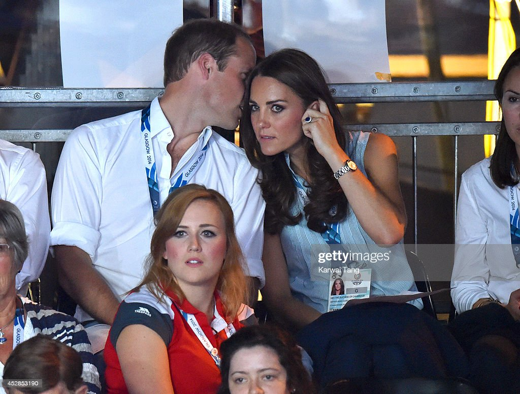 Royal Family & Celebrities At The Commonwealth Games : News Photo