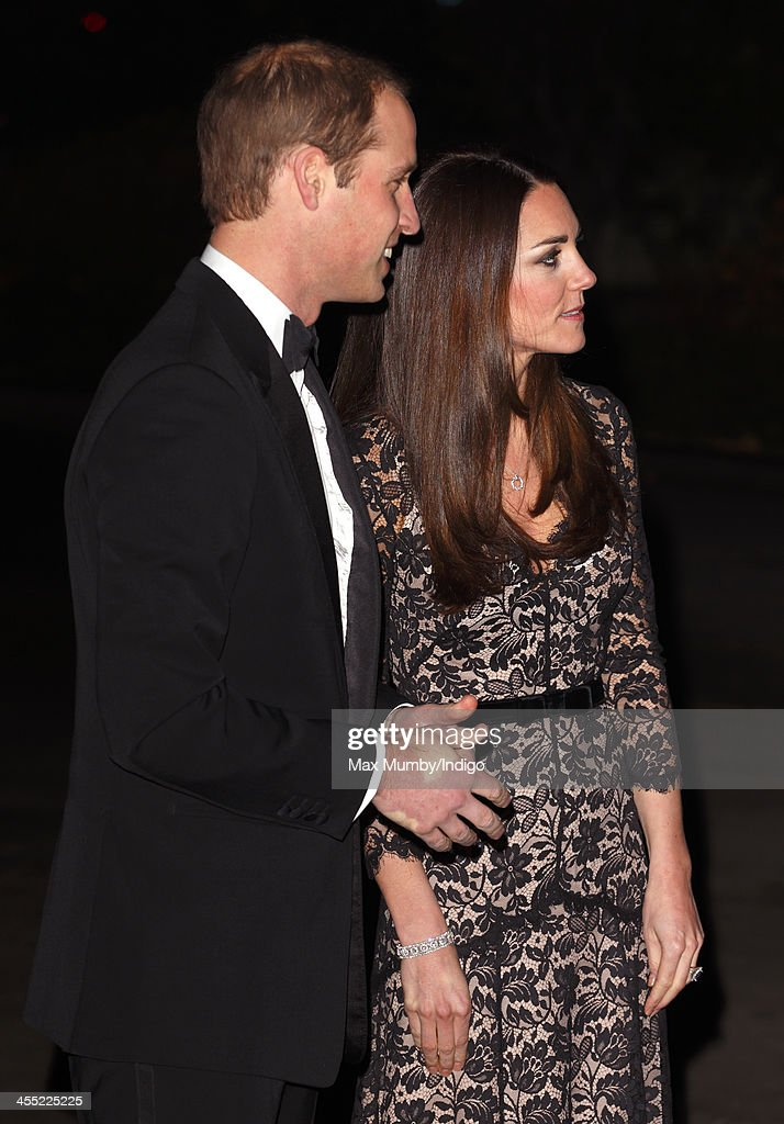 Catherine, Duchess of Cambridge and Prince William, Duke of Cambridge attend a screening of David Attenborough's Natural History Museum Alive 3D at the Natural History Museum on December 11, 2013 in London, England.