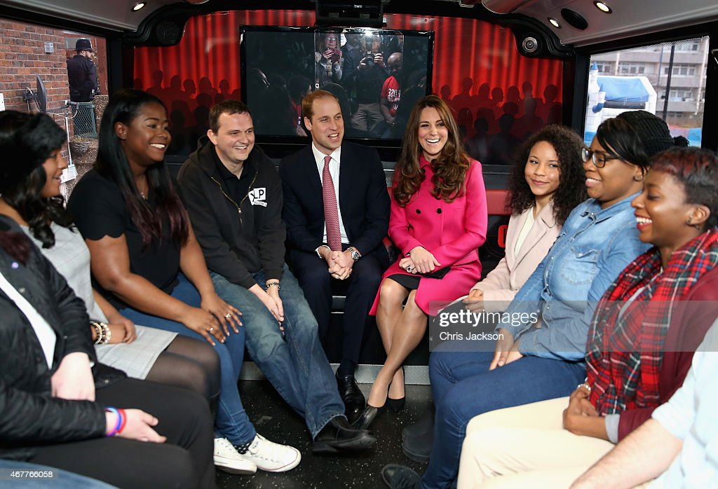 The Duke And Duchess Of Cambridge Support Development Opportunities For Young People In South London : News Photo
