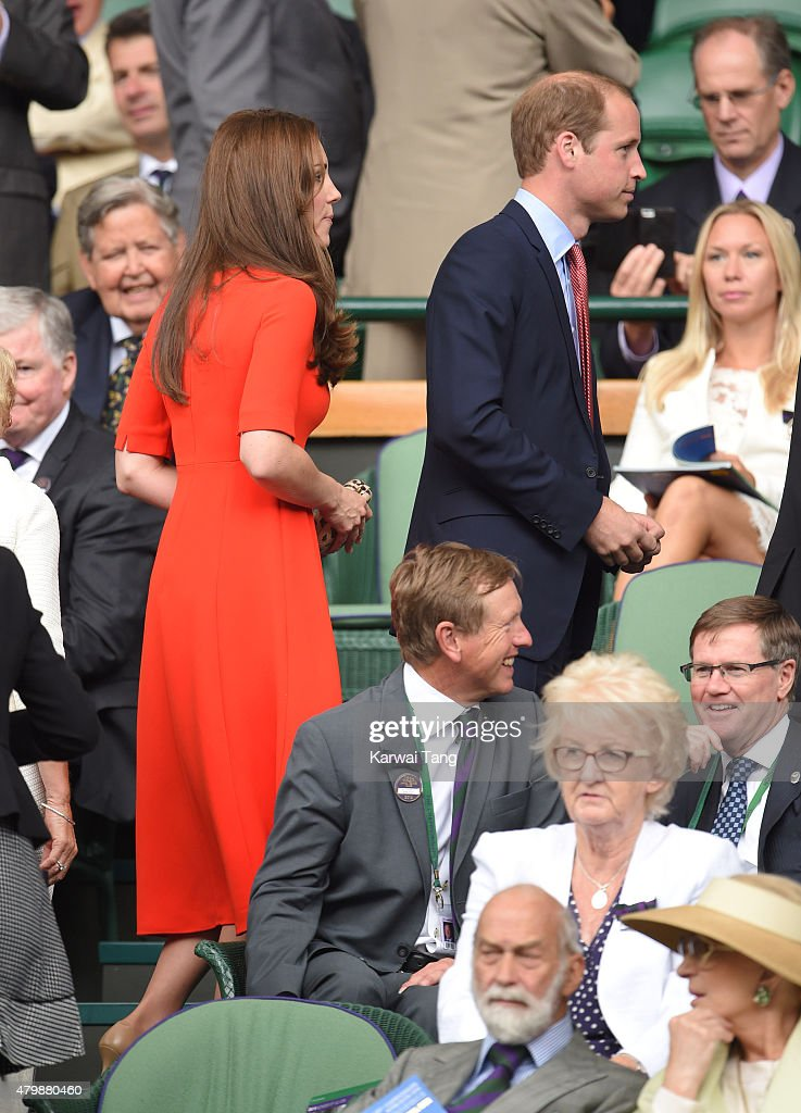 Celebrities At Wimbledon 2015 : News Photo