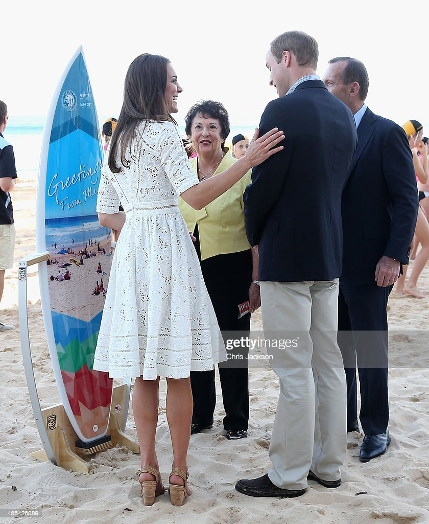 The Duke And Duchess Of Cambridge Tour Australia And New Zealand - Day 12 : News Photo