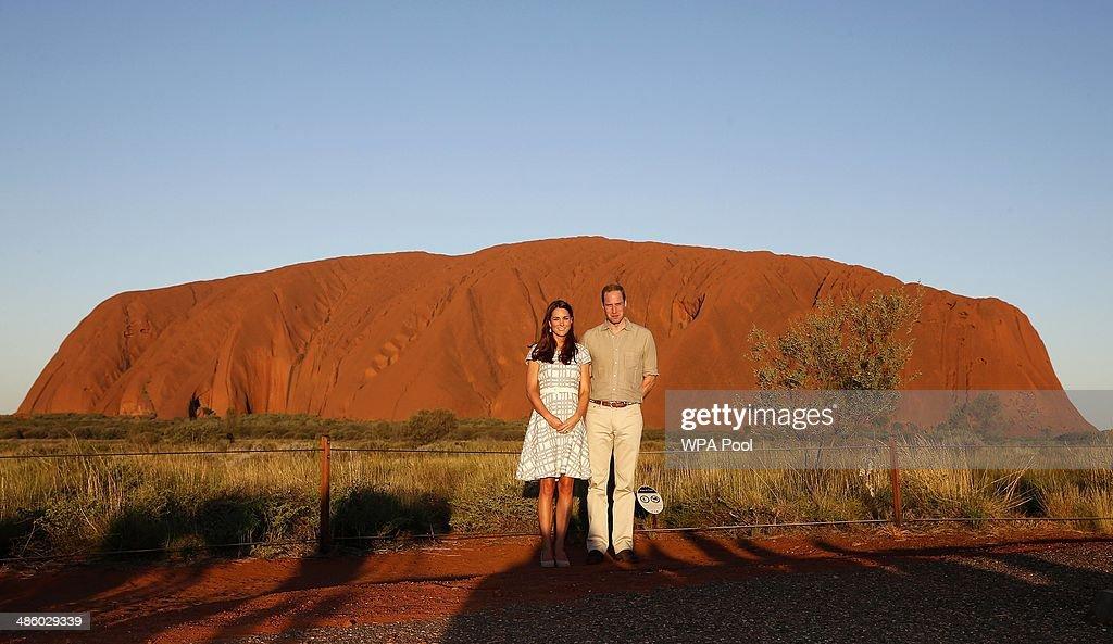 The Duke And Duchess Of Cambridge Tour Australia And New Zealand - Day 16 : News Photo