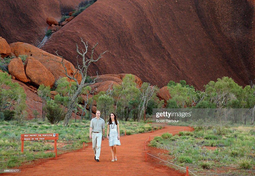 The Duke And Duchess Of Cambridge Tour Australia And New Zealand - Day 16 : ニュース写真