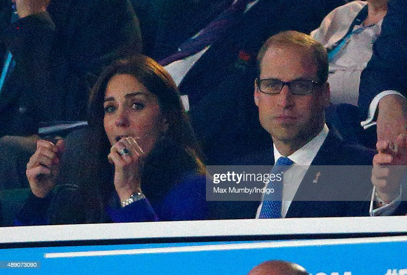 Royals & Celebrities Attend The Rugby World Cup : Nachrichtenfoto