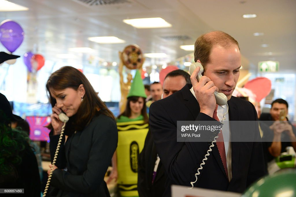 The Duke And Duchess Of Cambridge Attend The ICAP Charity Day : News Photo