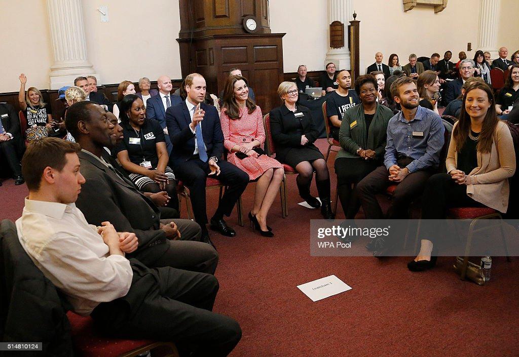 The Duke And Duchess Of Cambridge Visit XLP : News Photo