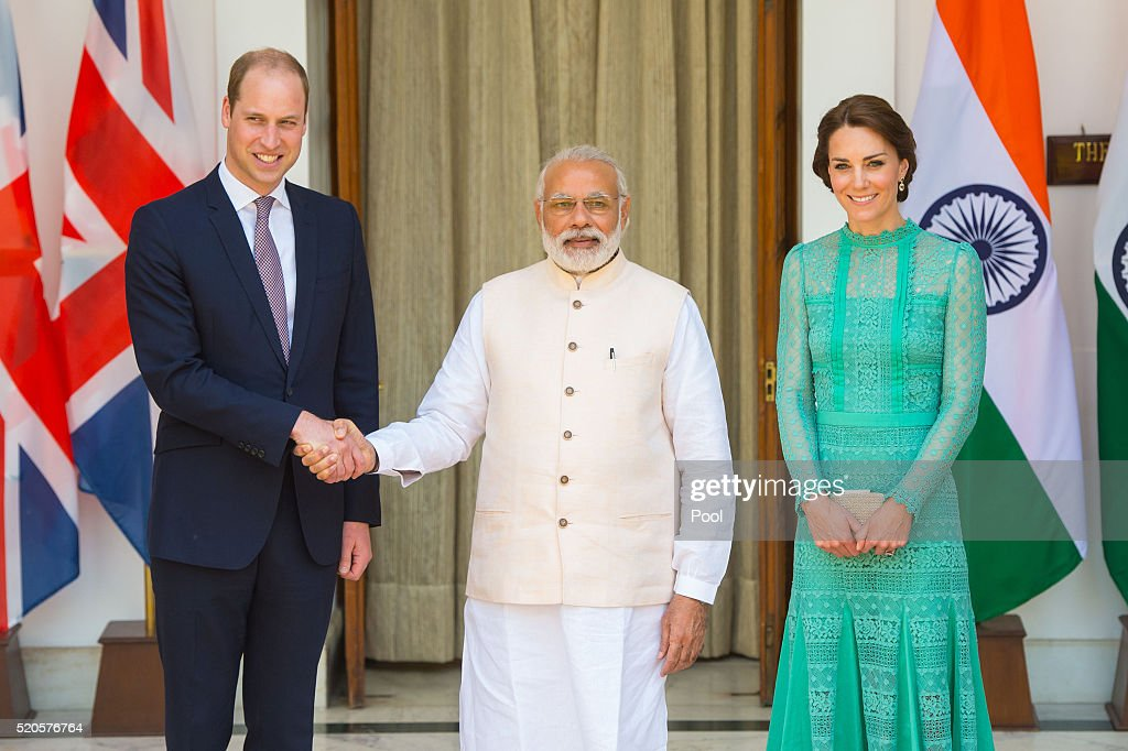 The Duke and Duchess Of Cambridge Visit India and Bhutan - Day 3
