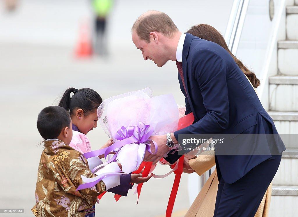 The Duke & Duchess Of Cambridge Visit India & Bhutan - Day 5 : News Photo