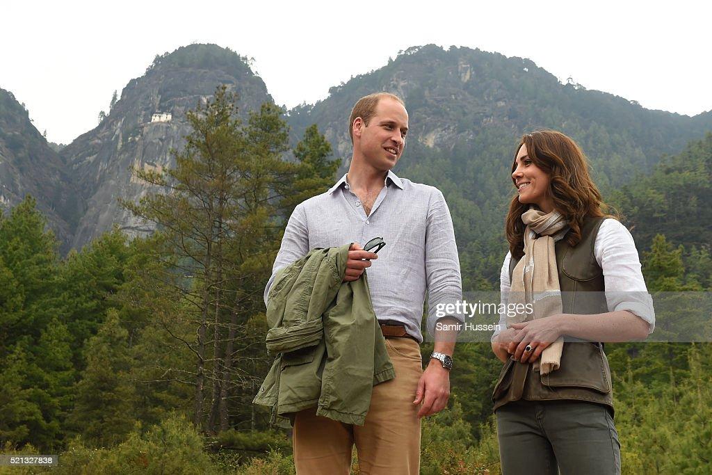 The Duke & Duchess Of Cambridge Visit India & Bhutan - Day 6 : News Photo