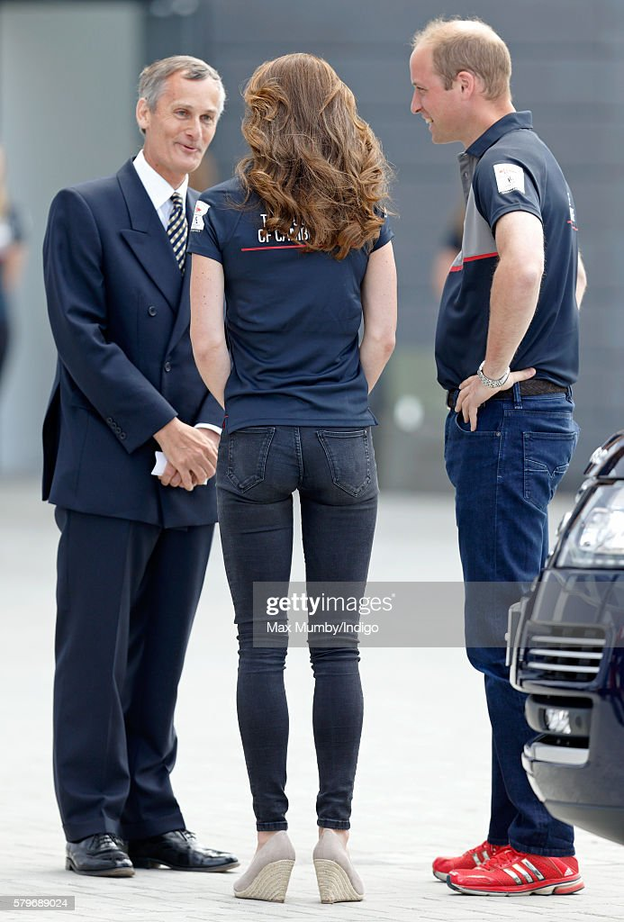 Duke And Duchess Of Cambridge At America's Cup World Series : ニュース写真