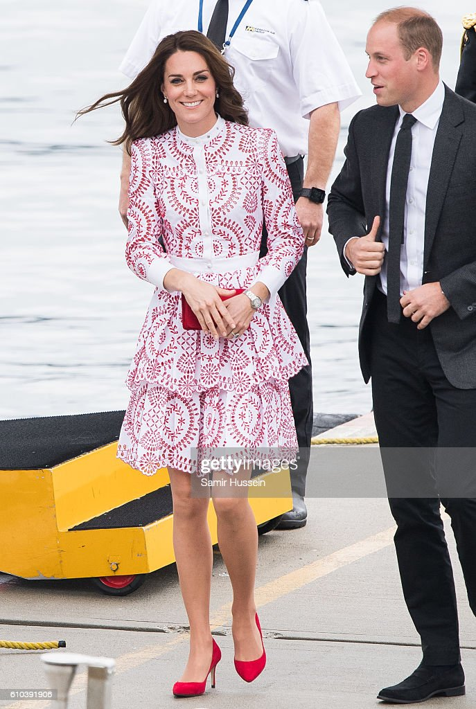 2016 Royal Tour To Canada Of The Duke And Duchess Of Cambridge - Vancouver, British Columbia : ニュース写真