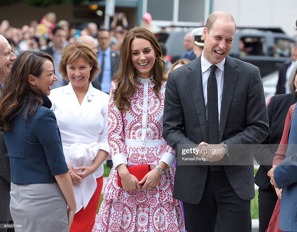 Catherine, Duchess of Cambridge and Prince William, Duke of Cambridge visit the Immigration Services Society of British Columbia on September 25, 2016 in Vancouver, Canada.