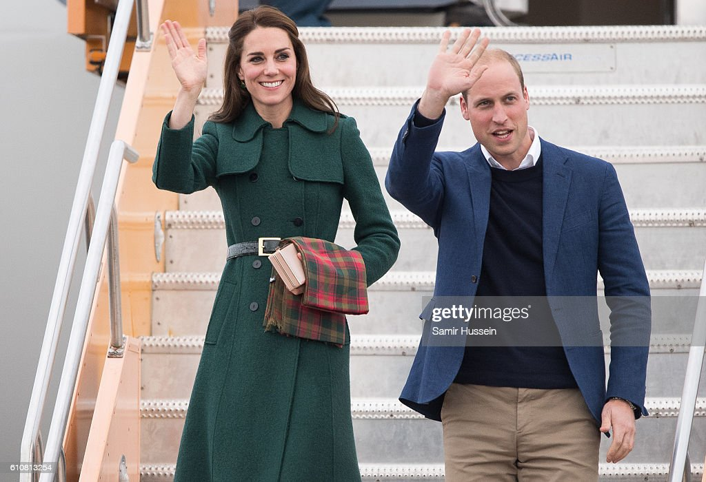2016 Royal Tour To Canada Of The Duke And Duchess Of Cambridge - Kelowna, British Columbia And Whitehorse, Yukon : ニュース写真