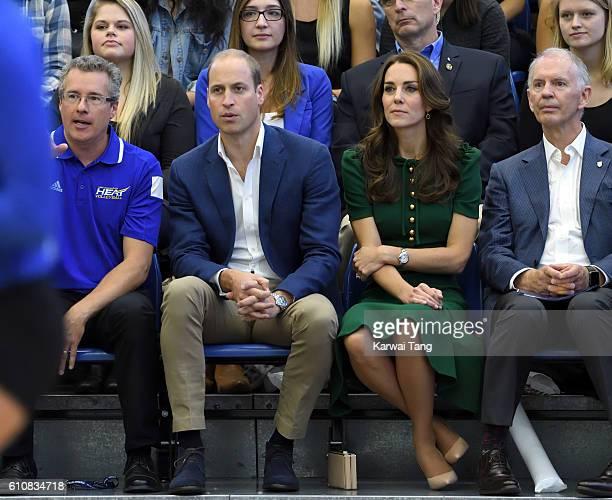 Catherine Duchess of Cambridge and Prince William Duke of Cambridge visit the University of British Columbia on September 27 2016 in Kelowna Canada