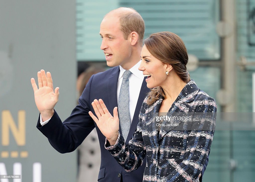 The Duke And Duchess Of Cambridge Visit Manchester : News Photo