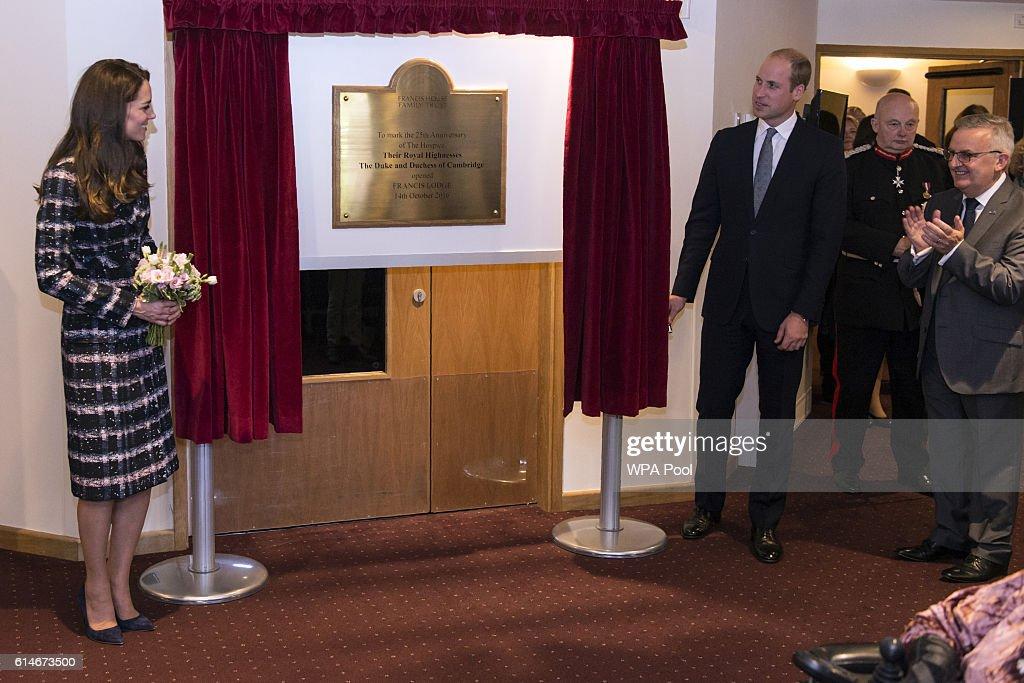 The Duke And Duchess Of Cambridge Visit Manchester : News Photo
