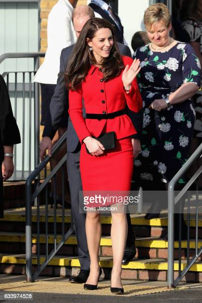 Catherine Duchess of Cambridge and Prince William Duke of Cambridge attend the Place2Be Big Assembly With Heads Together for Children's Mental Health...
