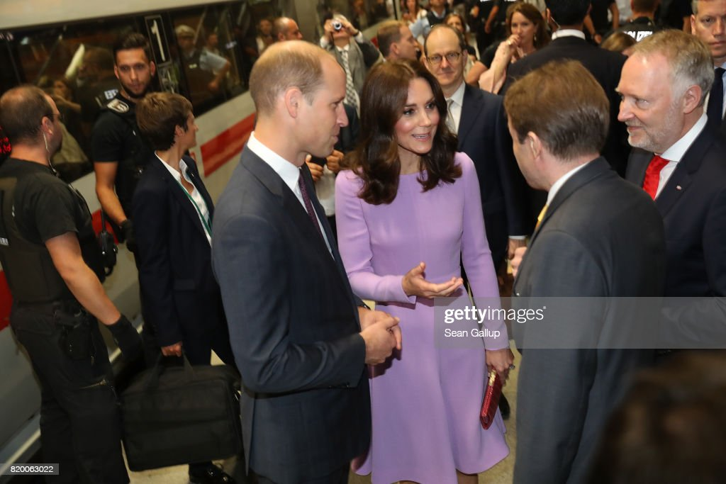 The Duke And Duchess Of Cambridge Visit Germany - Day 3 : News Photo