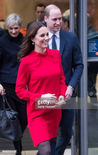 Catherine Duchess of Cambridge and Prince William Duke of Cambridge attend the Children's Global Media Summit at Manchester Central Convention...