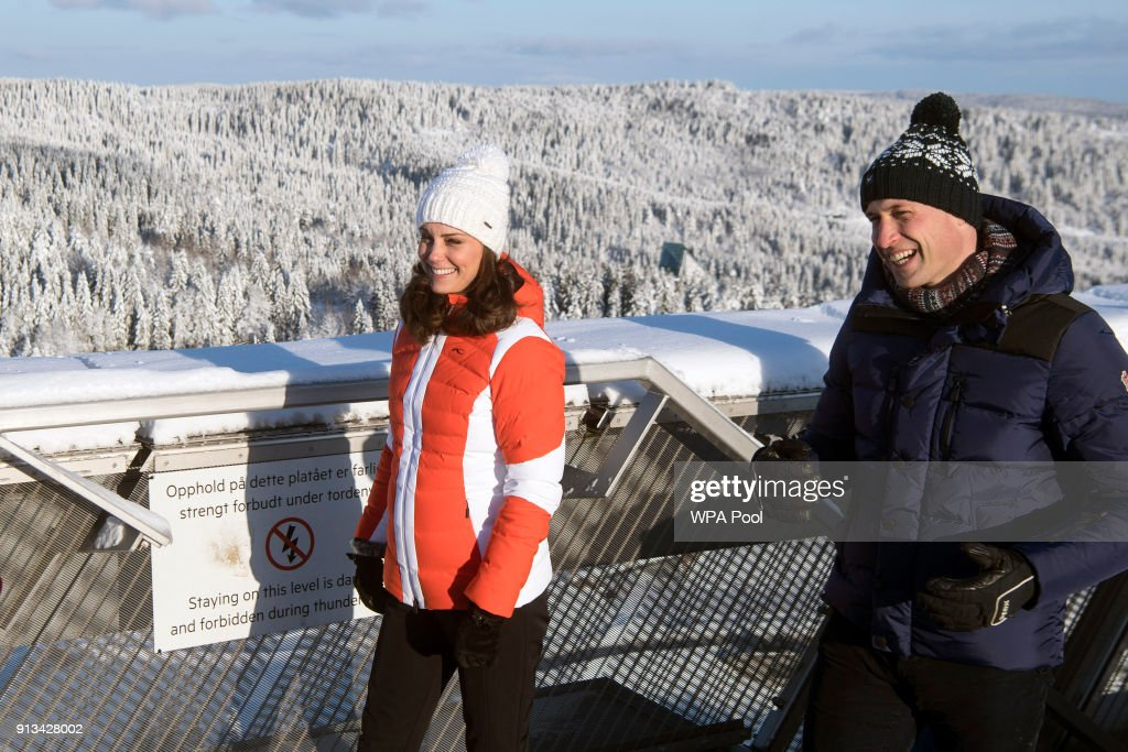 The Duke And Duchess Of Cambridge Visit Sweden And Norway - Day 4 : News Photo