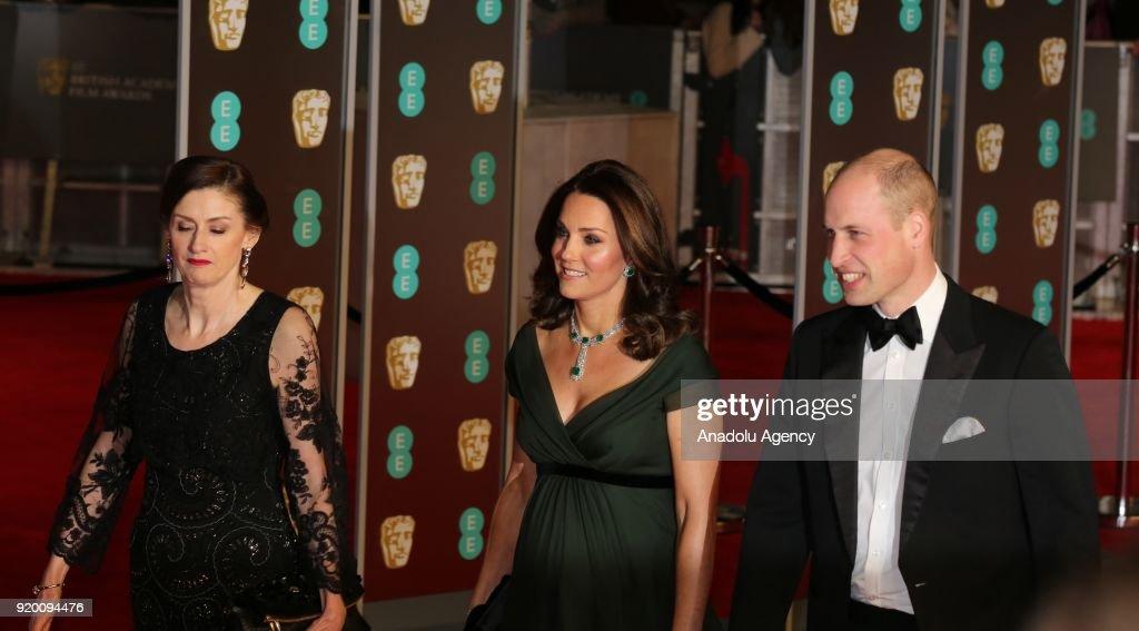 BAFTA Film Awards 2018 : News Photo