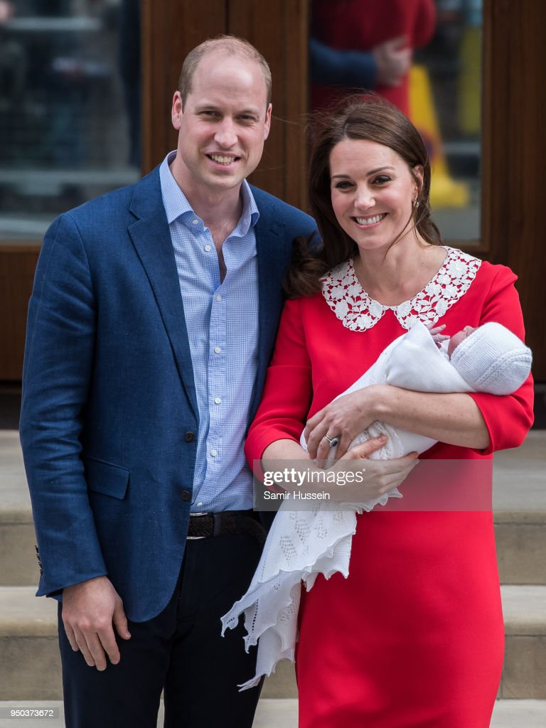 It's A Boy! Kate And William Welcome Third Child