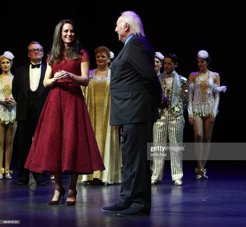 "The Duchess Of Cambridge Attends The Opening Night Of ""42nd Street"" In Aid Of The East Anglia Children's Hospice : News Photo"