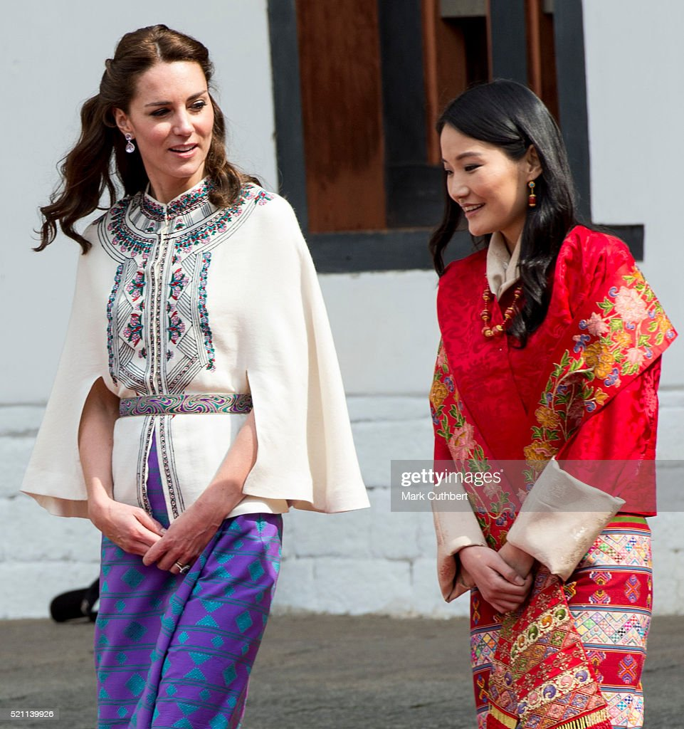 The Duke and Duchess Of Cambridge Visit India and Bhutan - Day 5 : News Photo
