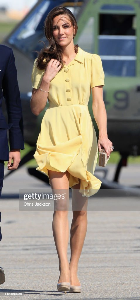 The Duke And Duchess Of Cambridge Canadian Tour - Day 8