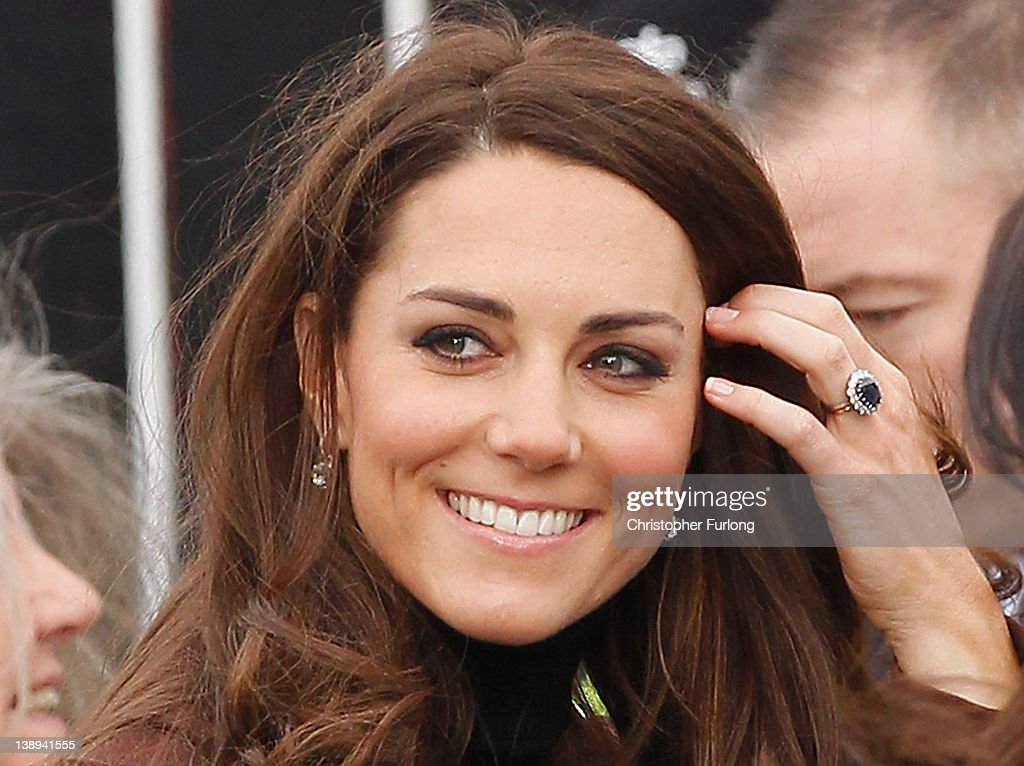 The Duchess Of Cambridge Visits Liverpool : News Photo