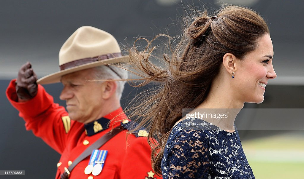 Catherine, Duchess of Cambridge arrives at Macdonald-Cartier International Airport on June 30, 2011 in Ottawa, Canada. The newly married Royal Couple have arrived in Canada today for their first joint overseas tour. Ottawa is the start of a 12-day visit to North America which will take in some of the more remote areas of the country such as Prince Edward Island, Yellowknife and Calgary. The Royal couple will also join millions of Canadians to take part in tomorrow's Canada Day celebrations which mark Canada's 144th Birthday.