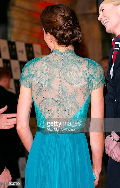 Catherine Duchess of Cambridge arrives at 'Our Greatest Team Rises BOA Olympic Concert' at Royal Albert Hall on May 11 2012 in London England