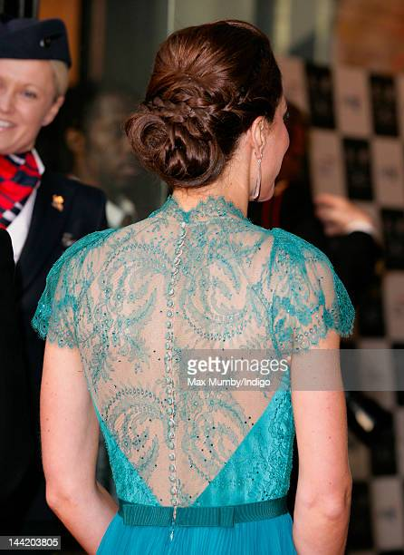 Catherine, Duchess of Cambridge arrives at 'Our Greatest Team Rises - BOA Olympic Concert' at Royal Albert Hall on May 11, 2012 in London, England.