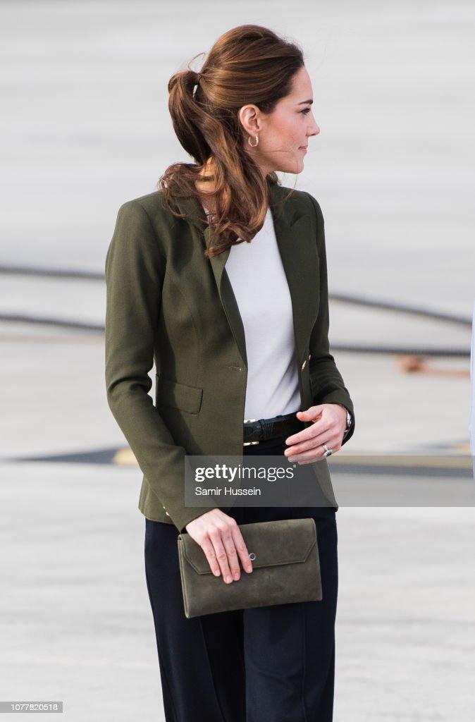 The Duke & Duchess Of Cambridge Visit Cyprus : News Photo