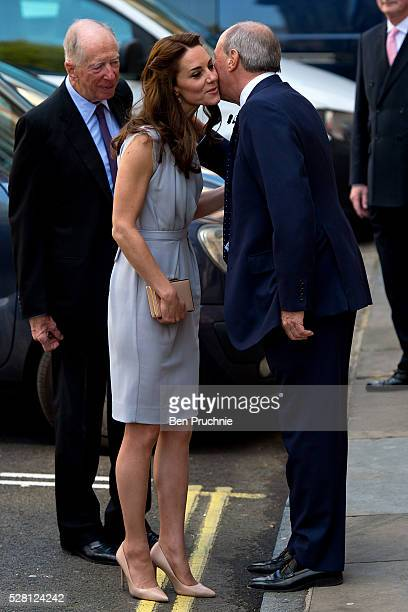 Catherine Duchess of Cambridge arrives at the Anna Freud Centre on May 4 2016 in London England