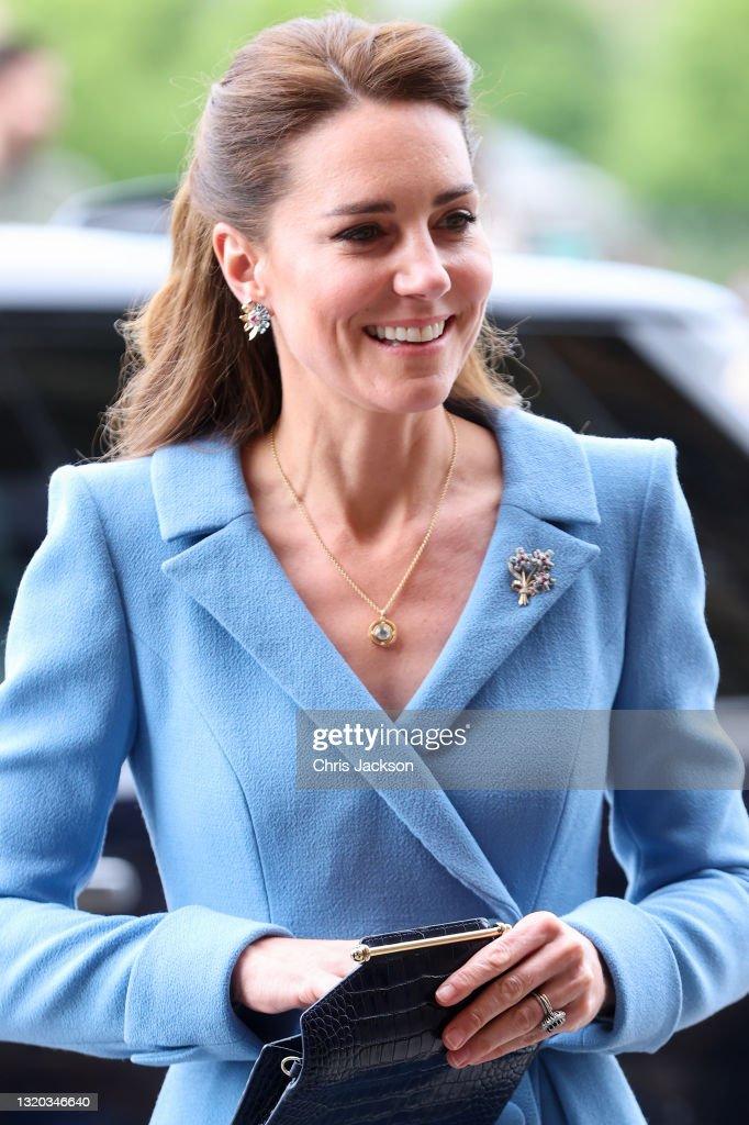 The Duke And Duchess Of Cambridge Visit Scotland - Day Seven : Nieuwsfoto's
