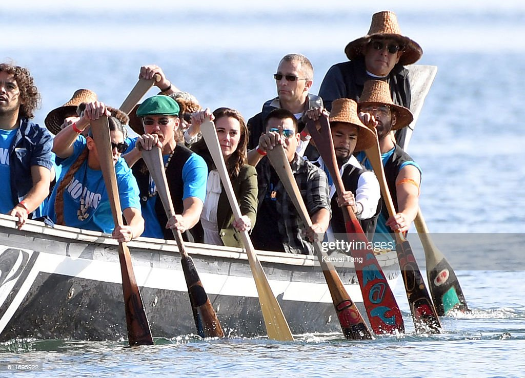 2016 Royal Tour To Canada Of The Duke And Duchess Of Cambridge - Haida Gwaii, British Columbia