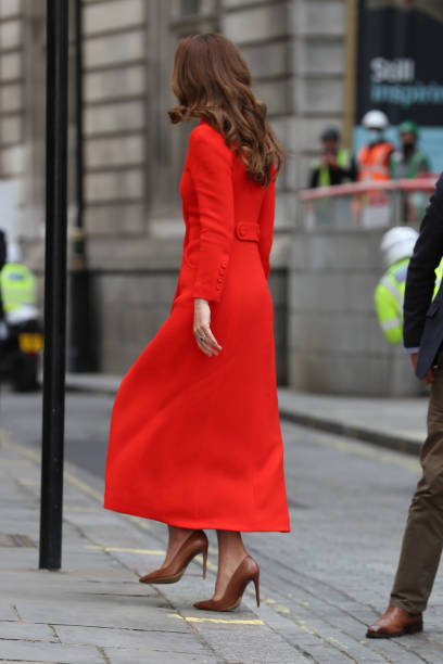 "GBR: The Duchess Of Cambridge Marks The Publication Of ""Hold Still"""
