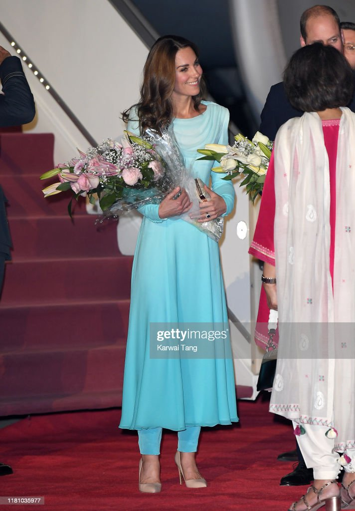 The Duke And Duchess Of Cambridge Visit Islamabad - Day One : ニュース写真