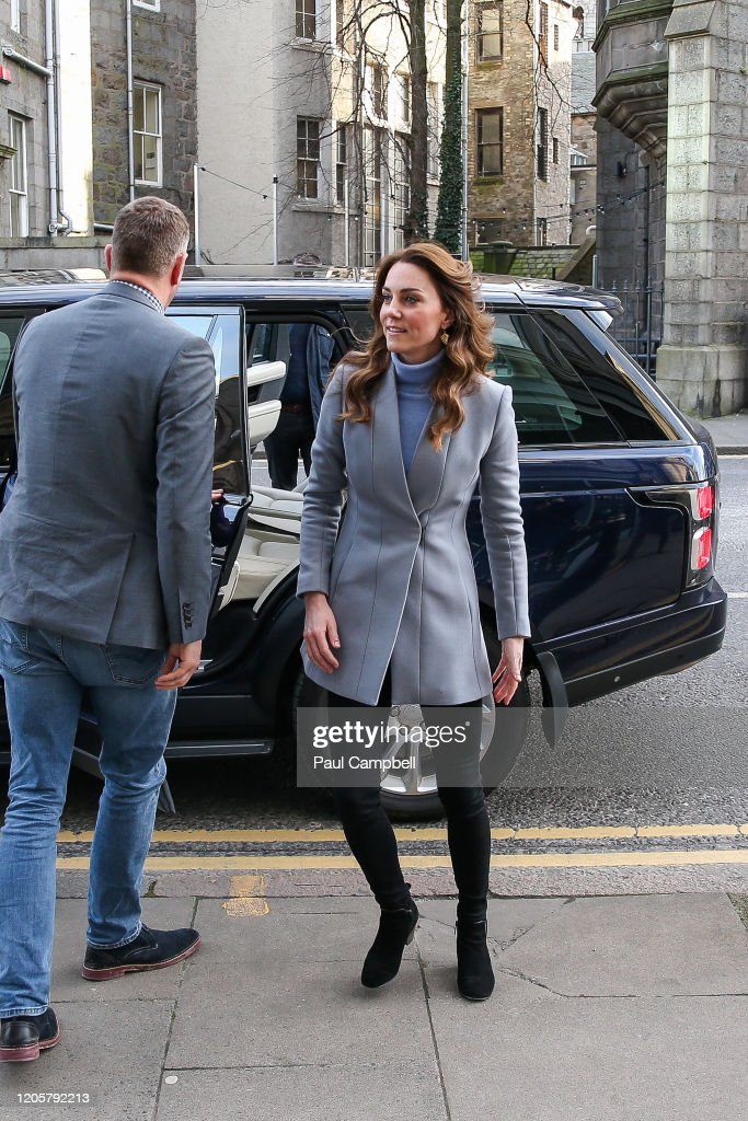 The Duchess Of Cambridge Takes Landmark Early Years Survey To Scotland : News Photo
