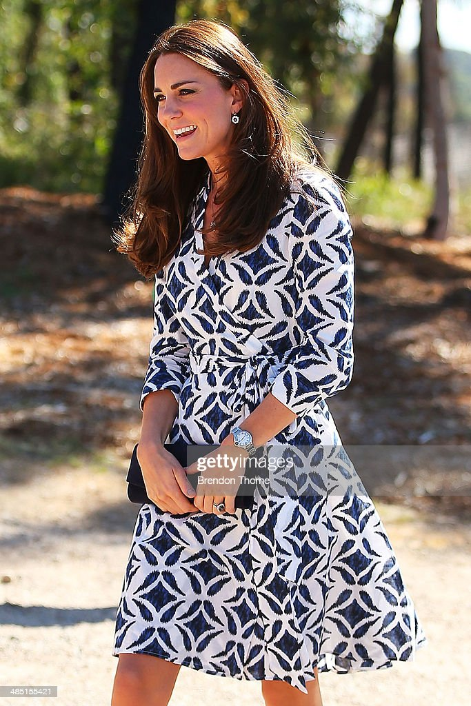 The Duke And Duchess Of Cambridge Tour Australia And New Zealand - Day 11 : News Photo