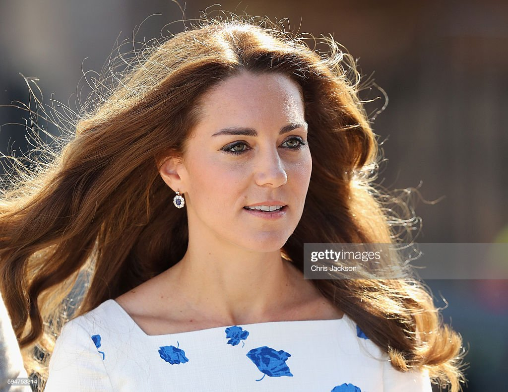 The Duke And Duchess Of Cambridge Visit Luton : News Photo