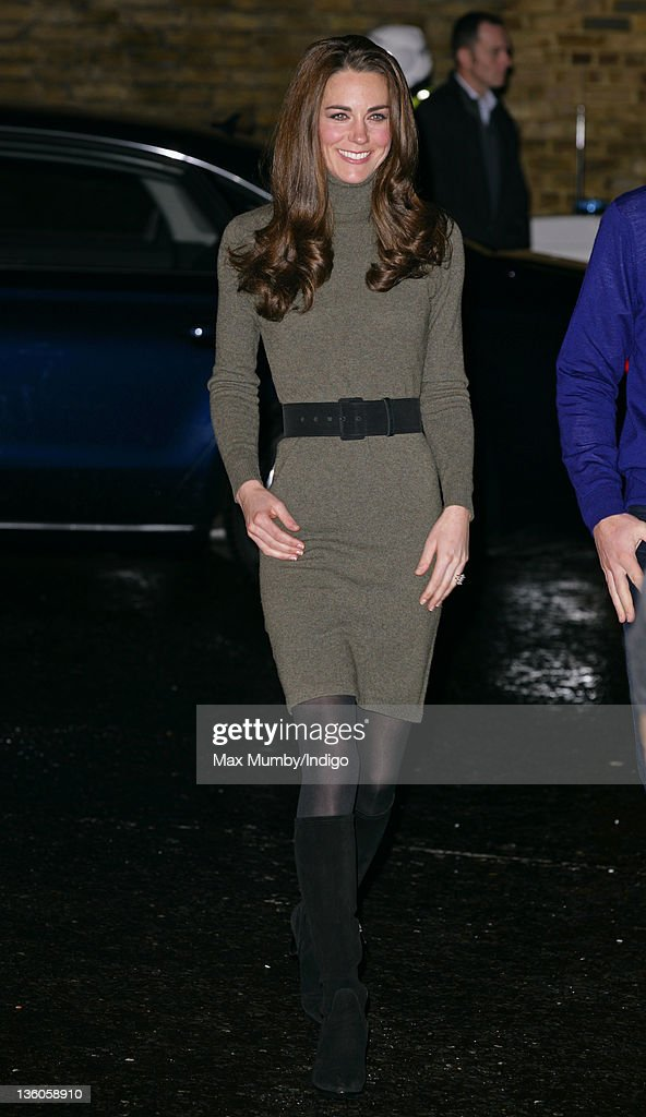 The Duke and The Duchess of Cambridge Visit Centrepoint : News Photo