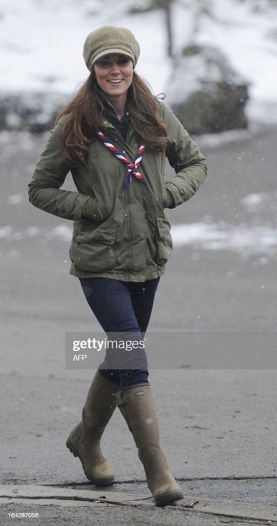 BRITAIN-ROYALS-SCOUTS : News Photo