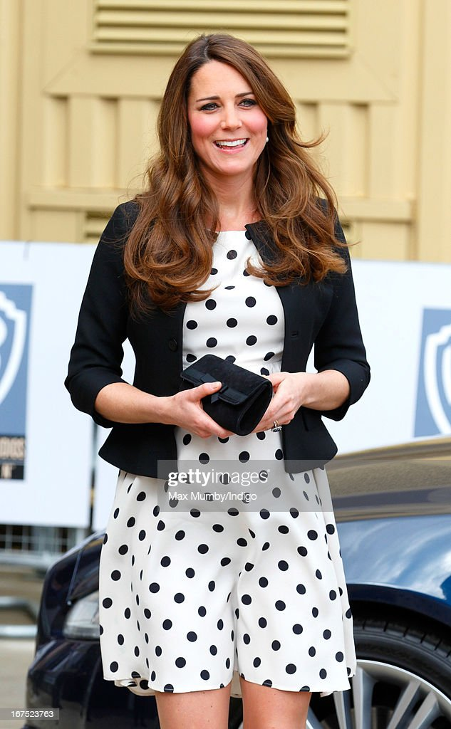 The Duke And Duchess Of Cambridge And Prince Harry Attend The Inauguration Of Warner Bros. Studios Leavesden : News Photo