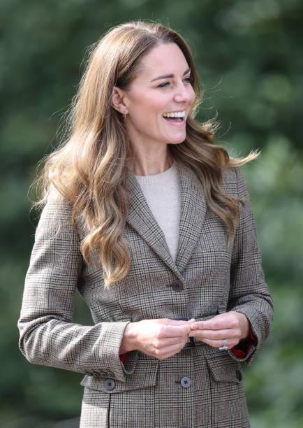 GBR: The Duchess Of Cambridge Visits Cumbria